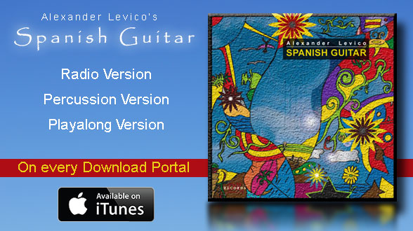 Alexander Levico - Spanish Guitar - Single Release